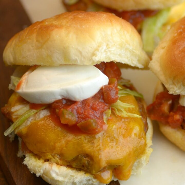 The Ultimate Sous Vide Taco Burger