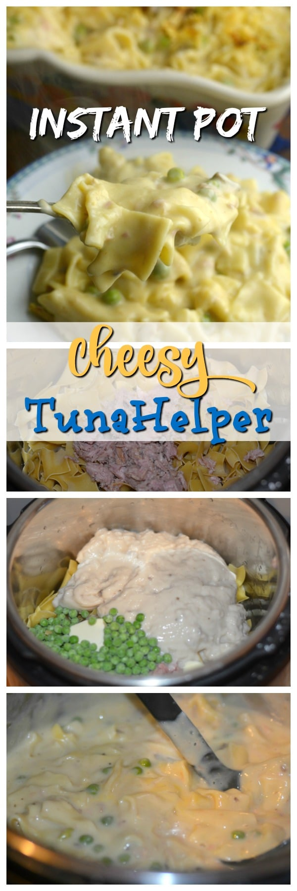 Instant Pot Cheesy Tuna Helper