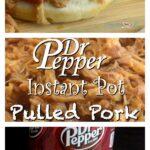 Dr. Pepper instant pot pulled pork