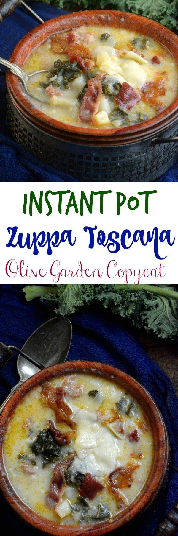 Zuppa toscana olive garden copycat instant pot soup for Olive garden copycat zuppa toscana