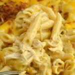 Instant Pot Buffalo Ranch Chicken Pasta