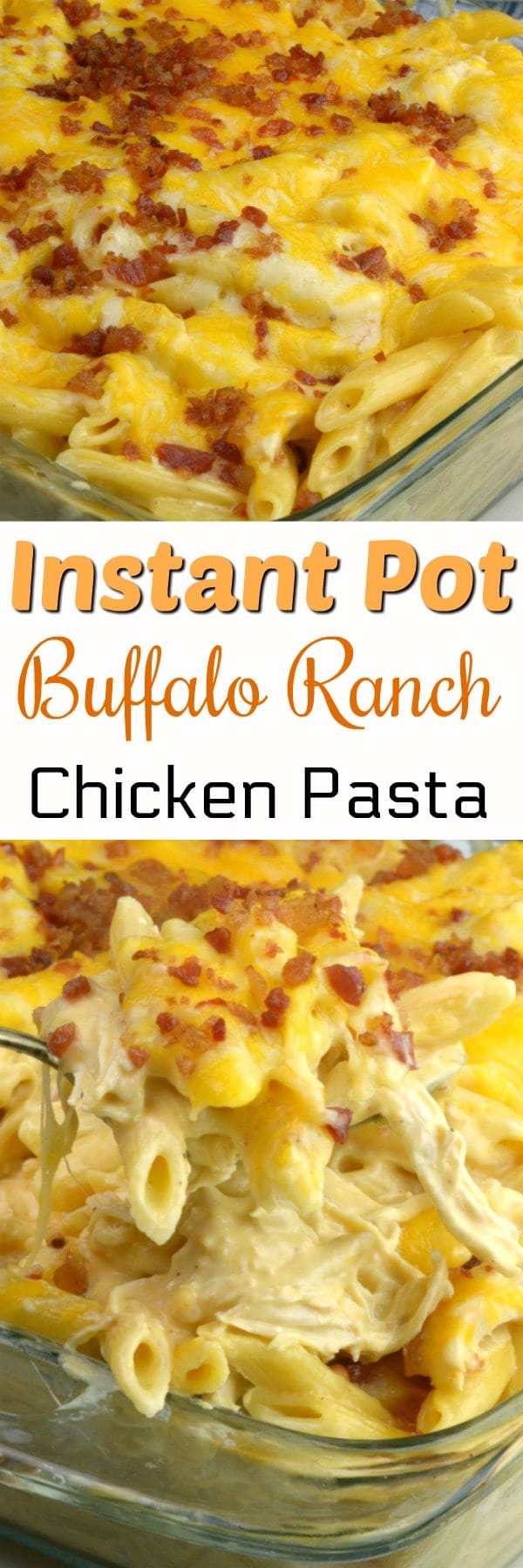 Looking for a chicken recipe that is super quick to whip up, and has tender chicken, creamy pasta, and offers a bit of a kick? That is exactly what you get with this Instant Pot buffalo chicken pasta.