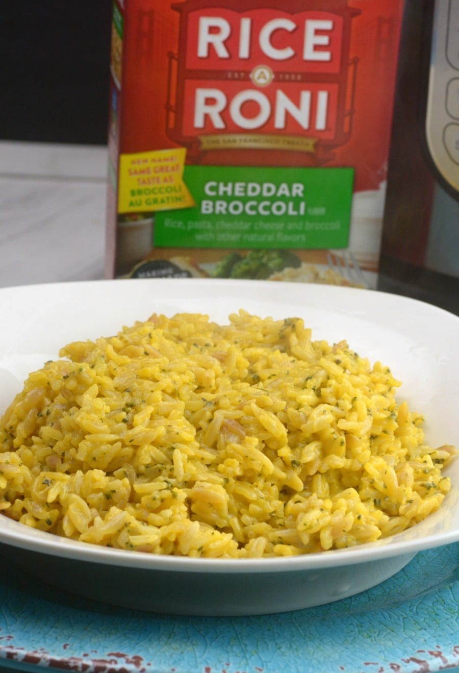 How To Make Instant Pot Boxed Rice A Roni Adventures Of