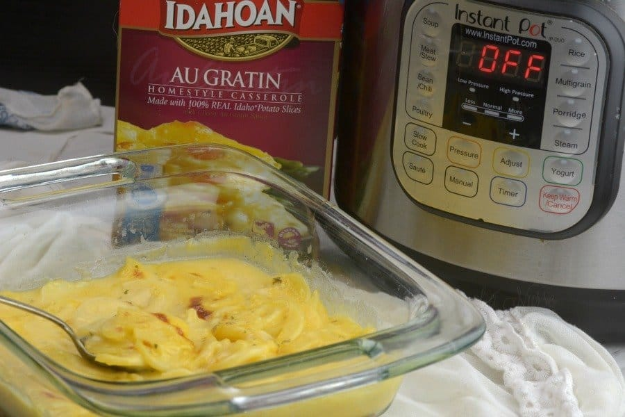 How to make Boxed Au Gratin Potatoes in the Instant Pot