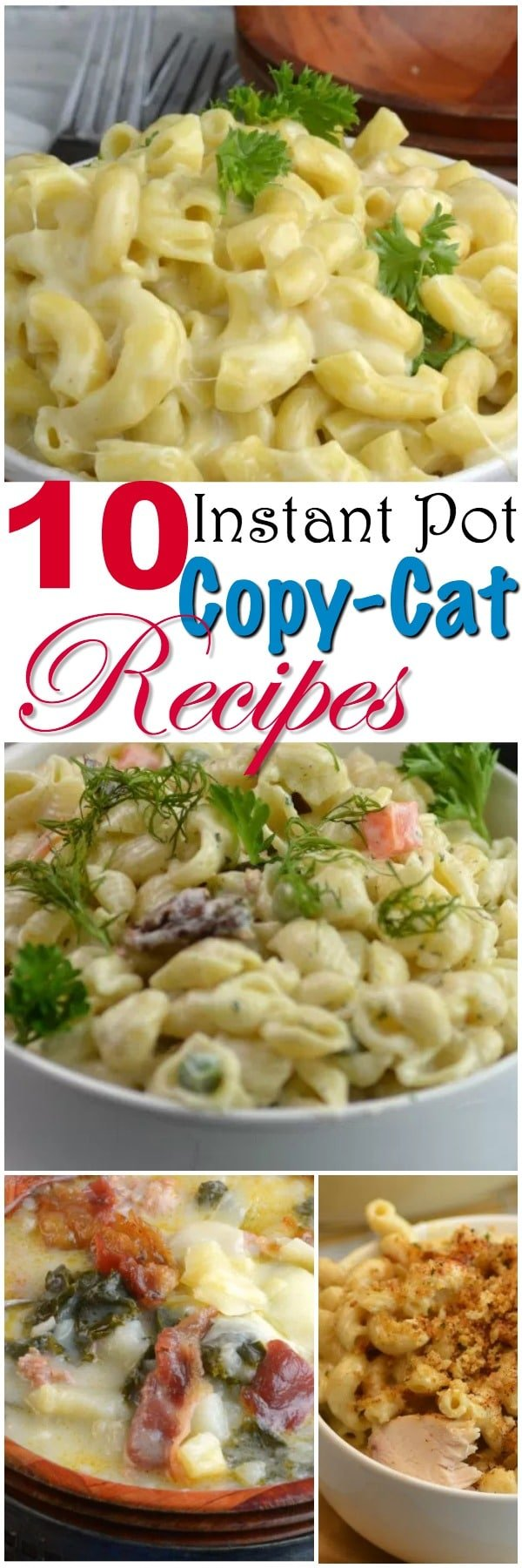10 Instant Pot Restaurant CopyCat Recipes