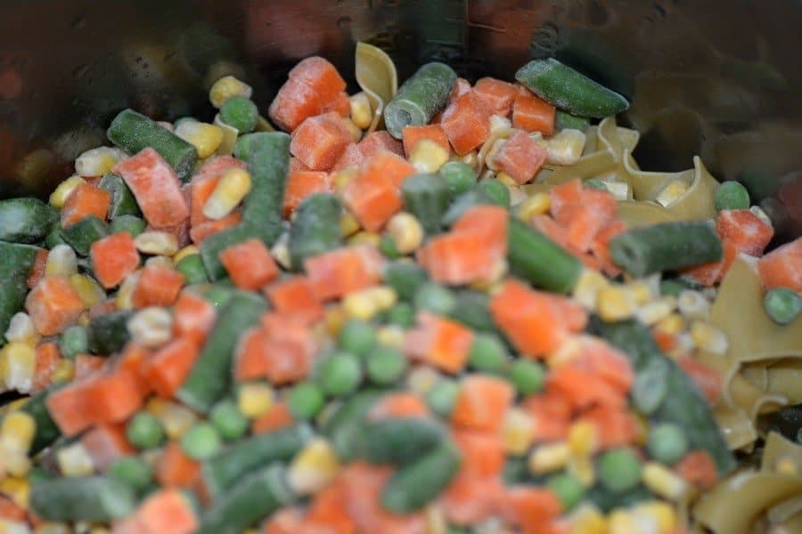 Instant Pot Chicken and veggies