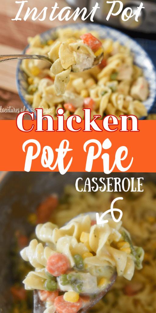 Instant Pot Pot Pie Casserole