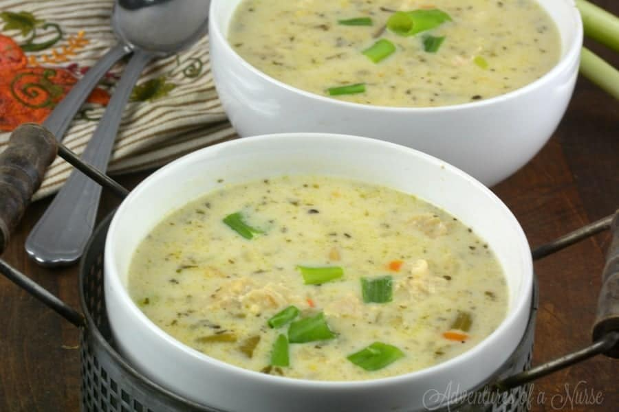 Panera's CopyCat Instant Pot Chicken Wild Rice Soup
