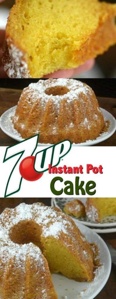 Instant pot 7-up Cake