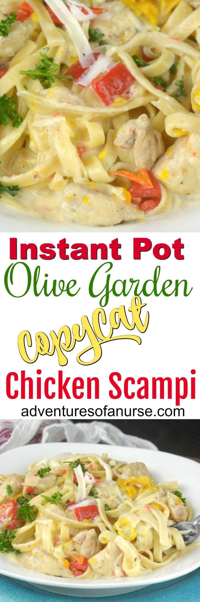 instant pot olive garden chicken scampi - Olive Garden Chicken Scampi Recipe
