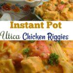 Instant Pot Utica Chicken Riggies #InstantPot #Chicken #OnepotMeal