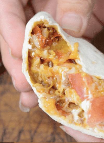 South West Instant Pot Burrito
