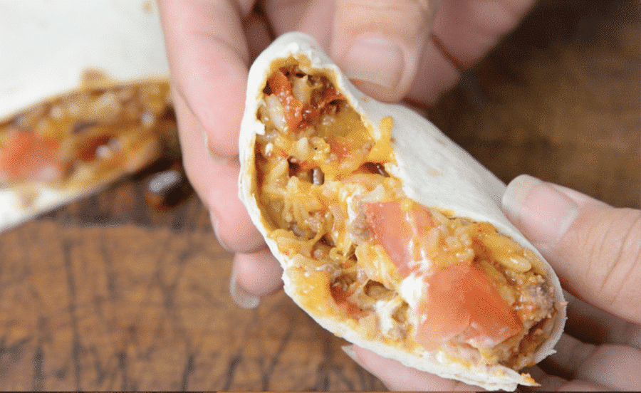 South West Instant Pot Burrito