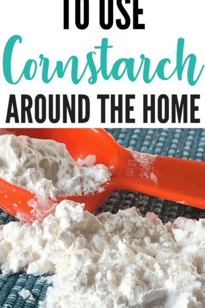 Surprising Cornstarch Uses Outside Of The Kitchen