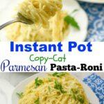 Instant Pot Copy-Cat Parmesan Pasta Roni
