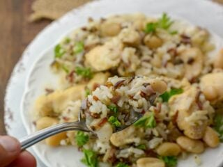 Instant Pot Chicken and Wild Rice
