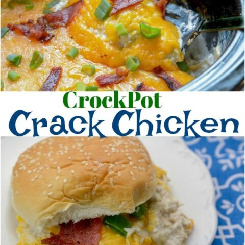 CrockPot Crack Chicken