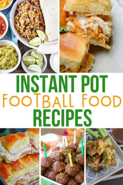 Instant Pot Football Food