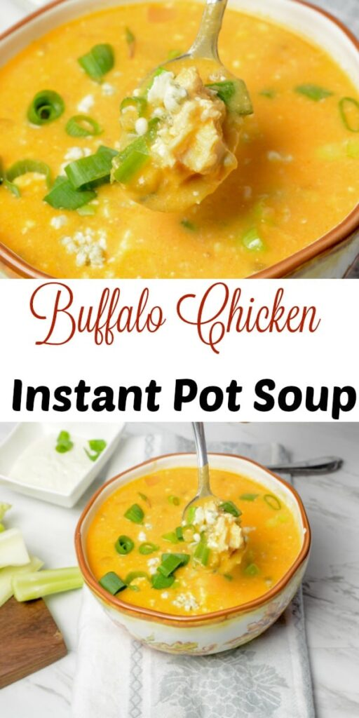Buffalo Chicken Instant Pot Soup