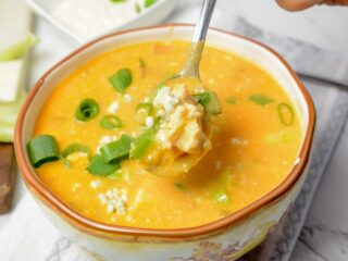 Instant Pot Buffalo Chicken Soup