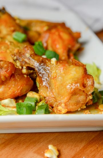 Instant Pot or Ninja Foodi Crispy Wings
