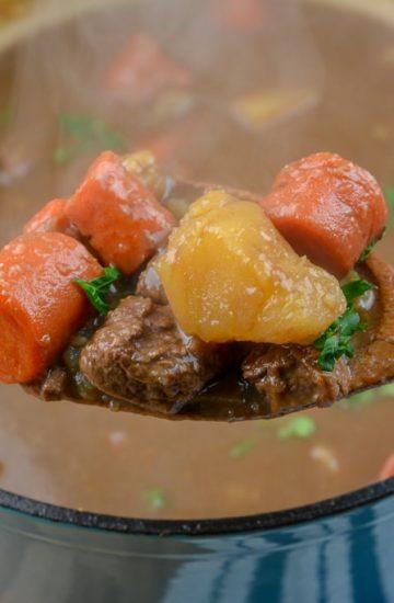 Grandma's Old Fashioned Dutch Oven Beef Stew