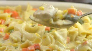 Instant Pot Chicken PotPie Casserole