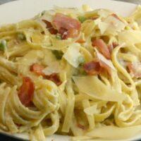 Instant Pot Pasta Carbonara