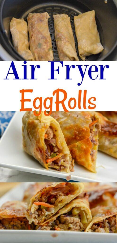 Airfryer or Ninja Foodi Egg Rolls