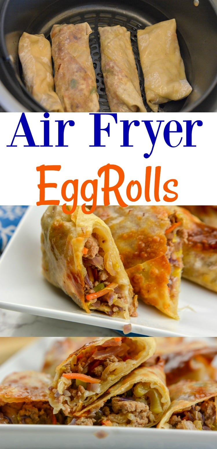 Airfryer or Ninja Foodi Egg Rolls