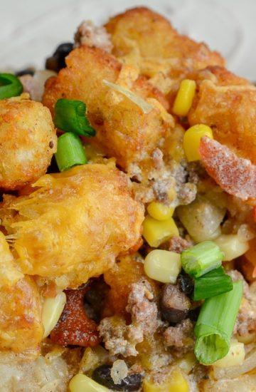Cowboy Casserole in the Ninja Foodi or oven
