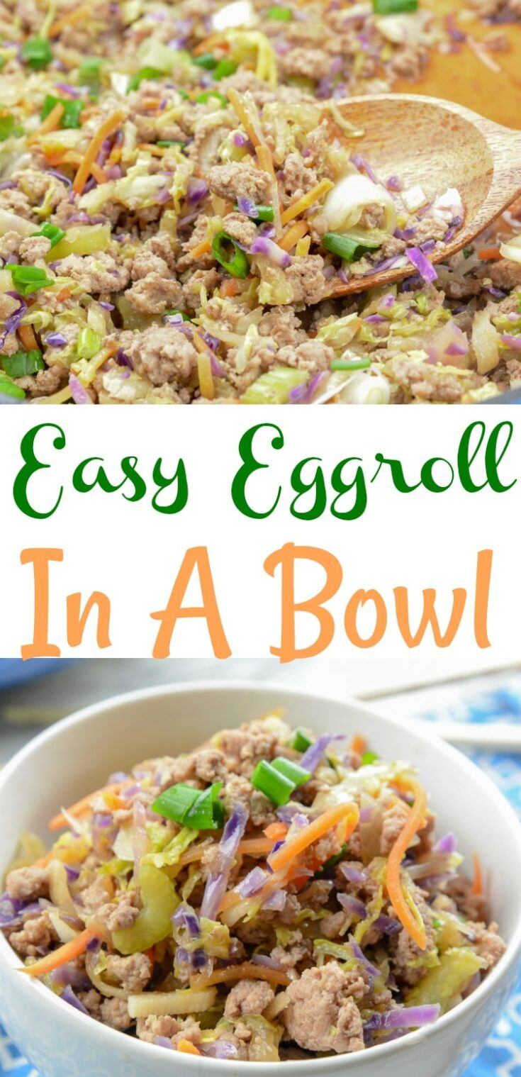 Easy Egg Roll In A Bowl