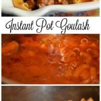Instant Pot Goulash 4 Minute Meal