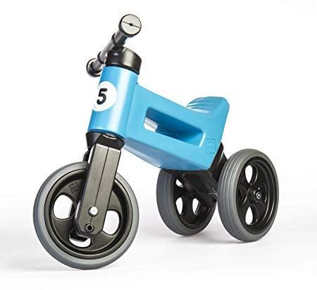 PlayMonster, Free Wheelin' Rider Convertible Balance Bike, Sky Blue