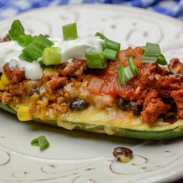 Zucchini Boat Weight Watchers Taco Casserole
