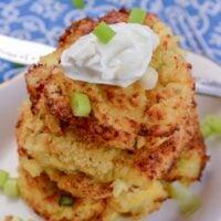 Air Fryer Mashed Potato Pancakes