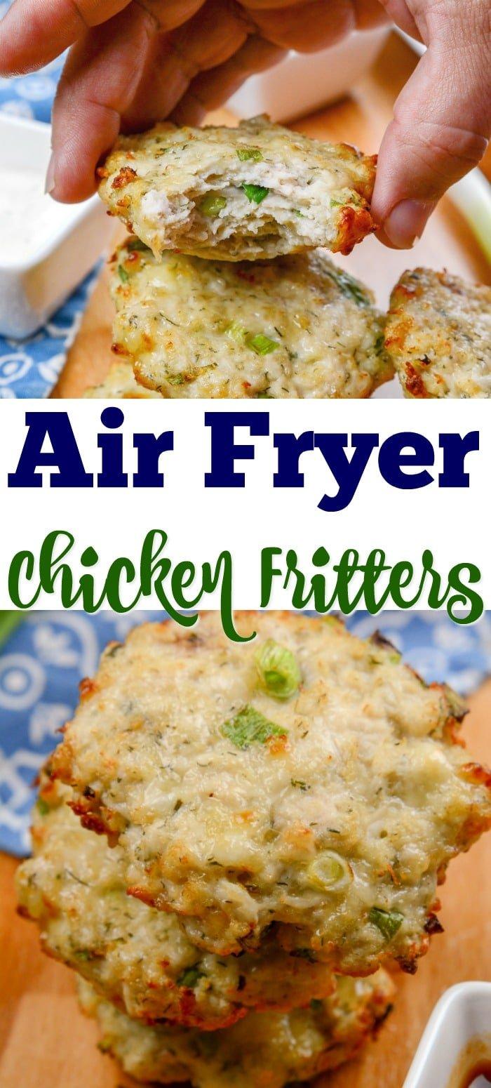 Airfryer Chicken Fritters