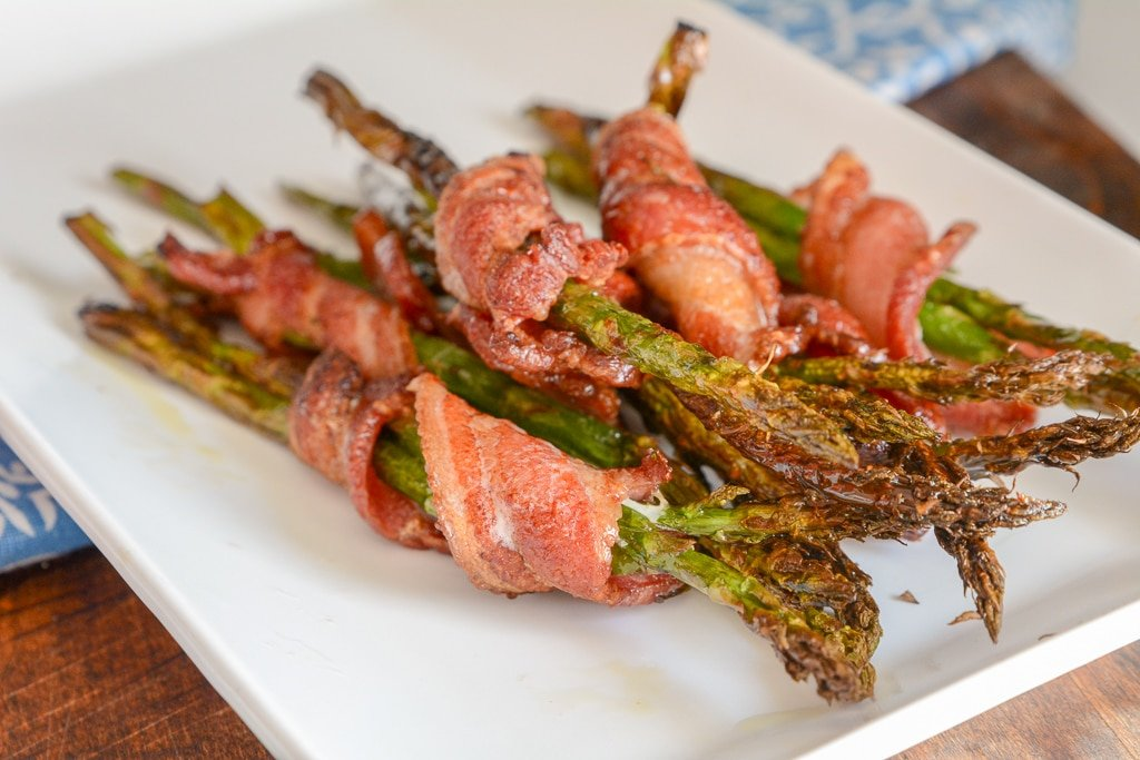 Bacon Wrapped Asparagus 1