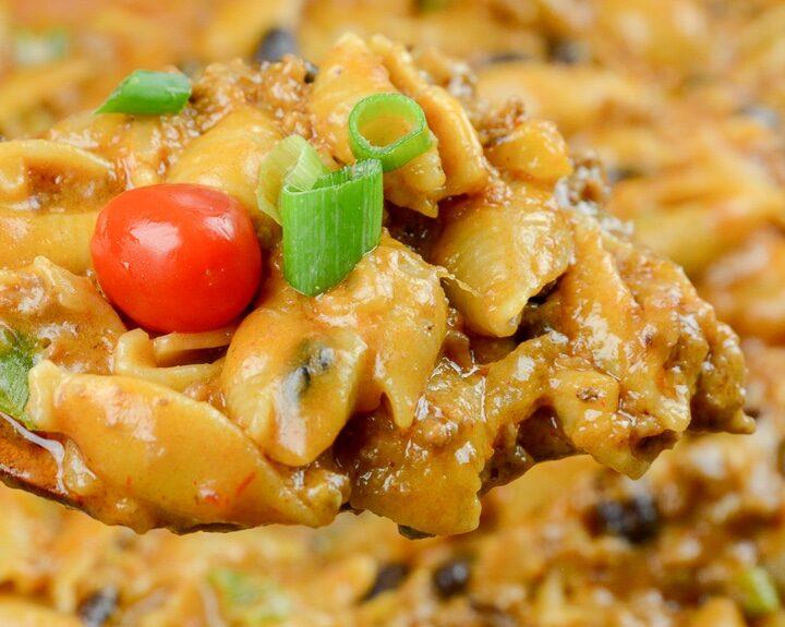 One Pot Cheesy Taco Pasta (3)