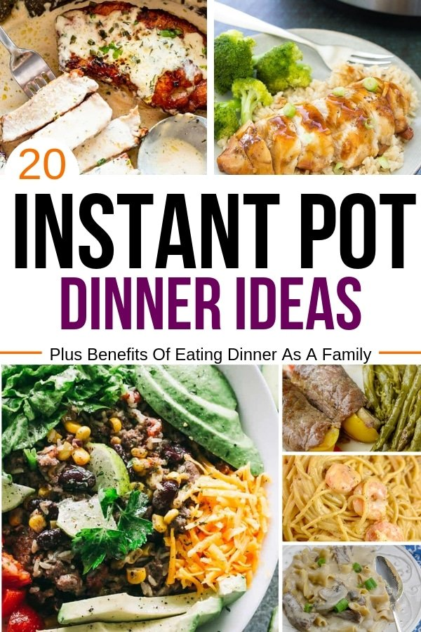 20 Instant Pot Dinner Ideas