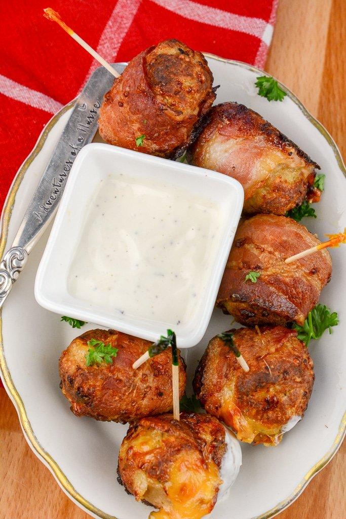 AirFryer Chicken Bacon Ranch Poppers (2)