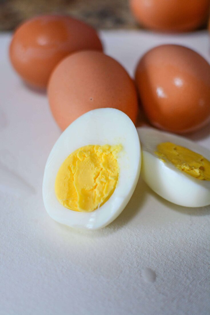 instant pot hard boiled eggs that are perfect every time