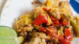 Instant Pot Chicken Fajitas Recipe
