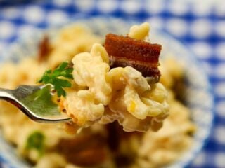 Instant Pot Crack Pasta fork