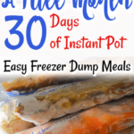 A Month of Freezer Dump Meals that Really Work