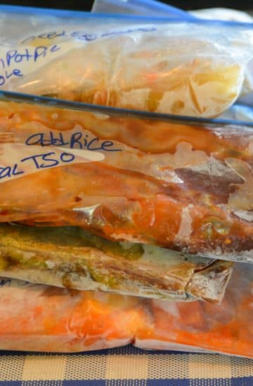 A Full Month of Instant Pot Freezer Dump Meals
