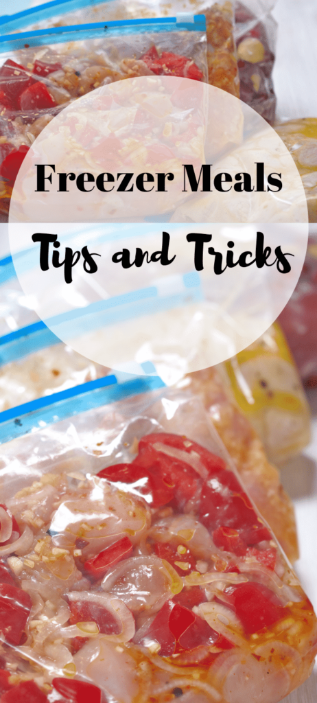 Freezer Meals Tips and Tricks