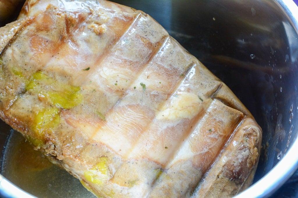 Frozen mississippi chicken