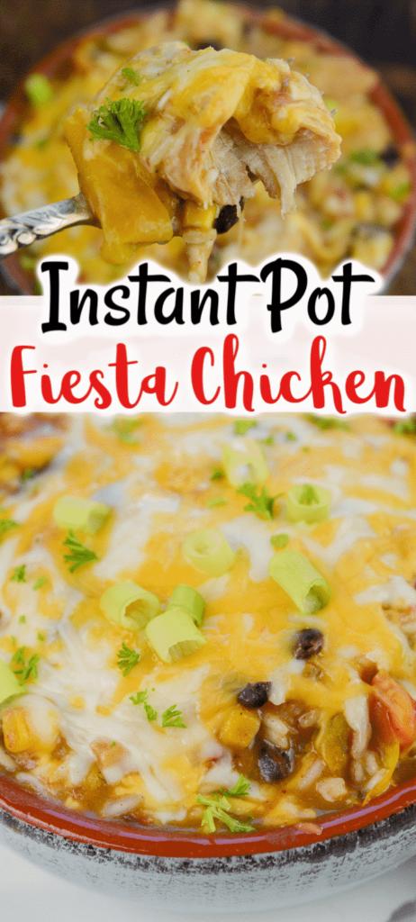 Instant Pot Fiesta Chicken