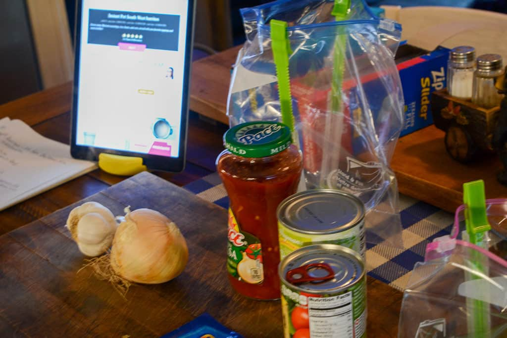 Instant Pot Freezer Meal Prep work
